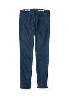 Ralph Lauren Childrenswear Aubrie Denim Leggings - Girls 7-16
