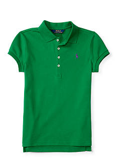 Ralph Lauren Childrenswear Stretch Mesh Polo Girls 7-16