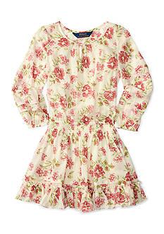 Ralph Lauren Childrenswear Chiffon Floral Dress Girls 7-16