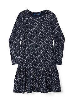 Ralph Lauren Childrenswear Floral Dress Girl's 7-16