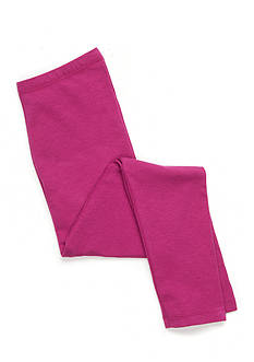J. Khaki Solid Legging Girls 7-16