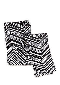 J. Khaki Printed Stripe Leggings Girls 7-16
