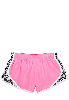 MJ Soffe Zebra Print Team Short Girls 7-16