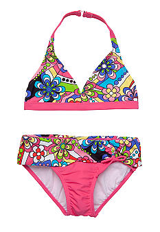 Beach Native 2-Piece Kaleidoscope Bathing Suit Girls 7-16