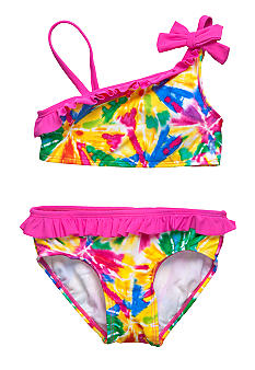 Beach Native Carnival Candy 2-piece Swim Suit Girls 4-6X