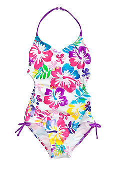 Beach Native Rainbow Forest One Piece Girls 7-16