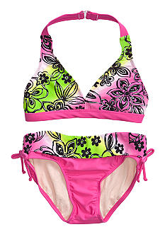 Beach Native Foiled Forest Bikini Girls 7-16