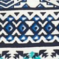 Baby & Kids: Girls (7-16) Sale: Navy Beautees 2-Piece Printed Peasant Top and Crochet Vest Set Girls 7-16