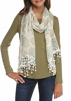 Belle du Jour Crochet Sides Detail Top Girls 7-16