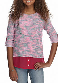 Red Camel Woven Top Girls 7-16