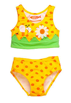 Sweet Potatoes Bee Tankini 2-piece Swimsuit Girls 4-6X