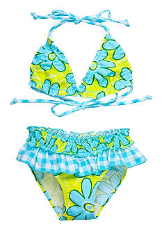 Sweet Potatoes Kiwi Bikini Swimsuit Girls 4-6X