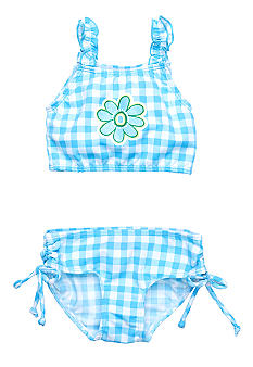 Sweet Potatoes Kiwi Tankini 2-piece Swimsuit Girls 4-6X