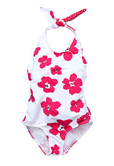 Sweet Potatoes Poppies Maillot 1-piece Swimsuit Girls 4-6X