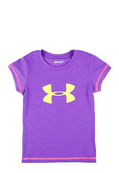 Under Armour Logo Tee Girls 4-6X