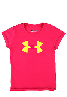 Under Armour Big Logo Tee Girls 4-6X