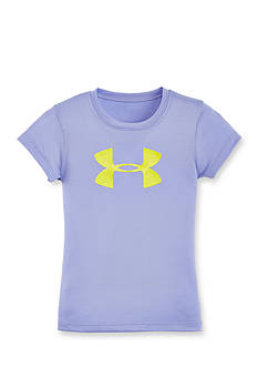 Under Armour Big Logo Glitter Tee Girls 4-6x