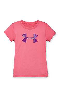 Under Armour Glitter Big Logo Tee Girls 4-6x