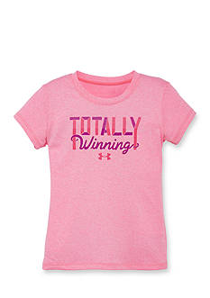 Under Armour 'Totally Winning' Tee Girls 4-6x
