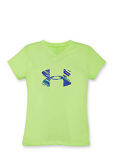 Under Armour Lumos Big Logo Tee Girls 4-6x