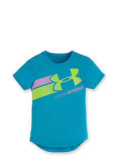 Under Armour Short Sleeve Fly By Logo Tee Girls 4-6x