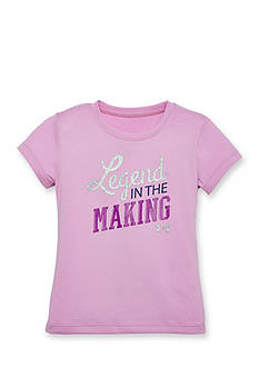 Under Armour Short Sleeve 'Legend In The Making' Top Girls 4-6x