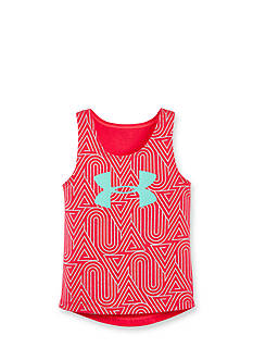 Under Armour Printed Run Tank Top Girls 4-6x