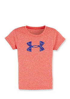 Under Armour Big Logo Fill Tee Girls 4-6x
