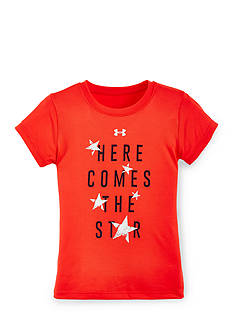 Under Armour 'Here Comes The Star' Tee Girls 4-6x