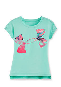 Under Armour Tides Logo Top Girls 4-6x