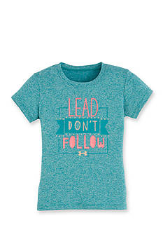 Under Armour 'Lead Don't Follow' Tee Girls 4-6x