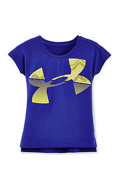 Under Armour Jumbo Big Logo Fill Tee Girls 4-6x