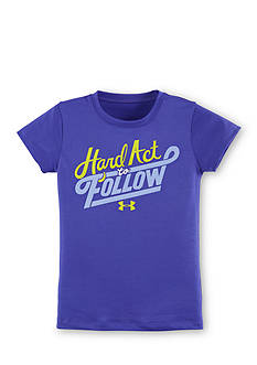 Under Armour 'Hard Act To Follow' Tee Girls 4-6x