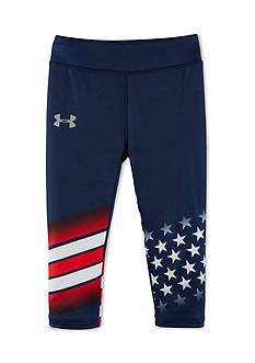 Under Armour USA Capri Leggings Girls 4-6x