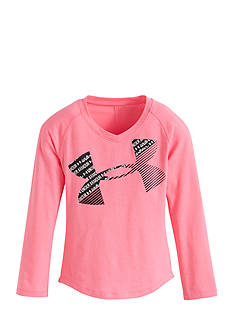 Under Armour Pink Long Sleeve Tee Girls 4-6x