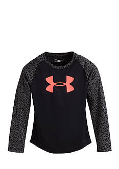 Under Armour Chain Grid Raglan Tee Girls 4-6x