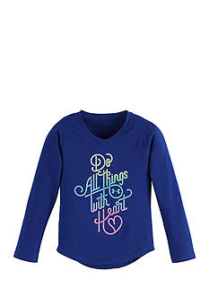 Under Armour Do Things With Heart Tee Girls 4-6x