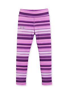 Under Armour Purple Blurred Striped Legging