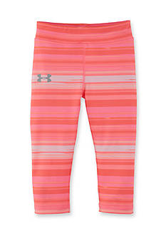 Under Armour Blurred Stripe Capris Girls 4-6x