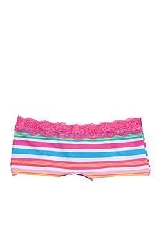 St. Eve Lace Stripe Boyshort Panty Girls 7-16