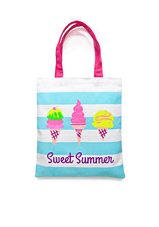 Capelli New York Sweet Summer Canvas Tote