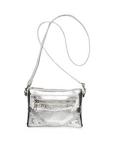 Capelli New York Metallic Crossbody Bag