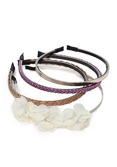 Capelli New York 4-Pack Assorted Headbands
