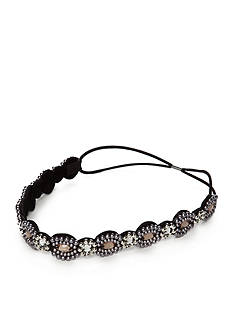 Capelli New York Pearl and Gem Head Wrap