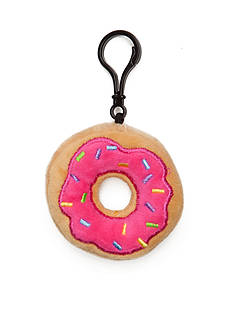 Capelli New York Donut Stuffed Key Chain