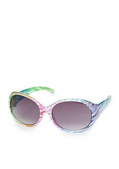 Capelli New York Rainbow Zebra Sunglasses Girls 4-16