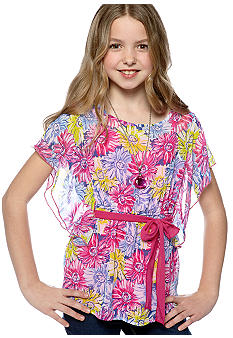Speechless Chiffon Necklace Top Girls 7-16
