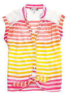 Speechless 2-Piece Cami & Tie Front top Girls 7-16
