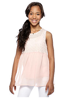 Speechless Lace Babydoll Top Girls 7-16