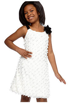 Speechless Eyelash Rosette Dress Girls 7-16